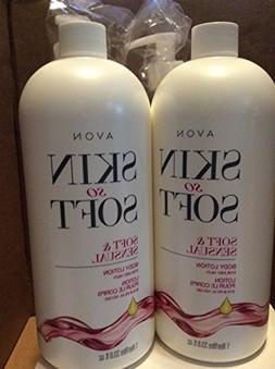Avon skin so soft Soft & Sensual Body lotion for dry skin 33