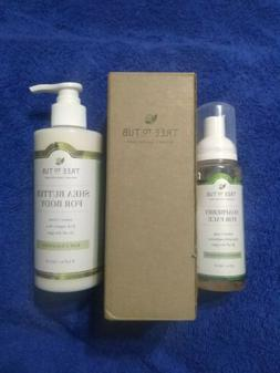 Tree to Tub Soapberry for Face Wash 4 fl oz & Shea Butter Fo