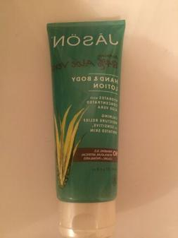 Jason Soothing 84% Aloe Vera Hand and Body Lotion 8oz Certif