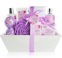 """Premium Large Spa Basket, """"All The Best Wishes"""" Gift Basket"""
