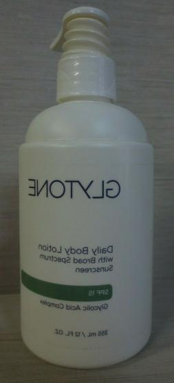 Glytone Body Lotion SPF 15, 12 Fluid Ounce