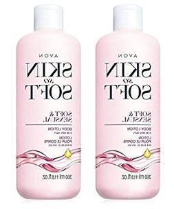 Lot of 2 Avon Skin So Soft SSS Soft & Sensual Ultra Moisturi