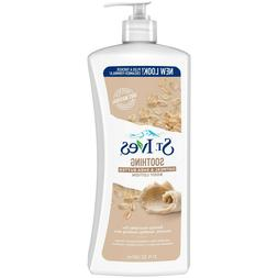 St. Ives Oatmeal and Shea Butter Body Lotion, 21 oz Non-Grea