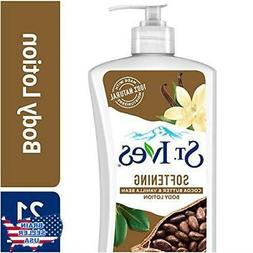 St. Ives Softening Body Lotion, Cocoa Butter and Vanilla Bea