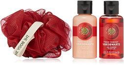 The Body Shop Strawberry Treats Cube  Gift Set