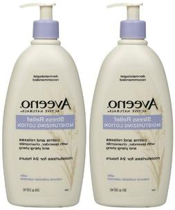 Aveeno Stress Relief Moisturizing Lotion - 18 oz - 2 pk