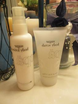 BeautiControl Sugar Body Scrub & Body Lotion Set! Full Sizes
