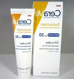 CeraVe - Sunscreen Body Lotion SPF 30 InVisibleZinc - 3.5oz