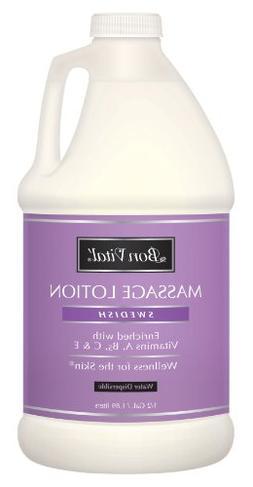 Bon Vital Swedish Massage Lotion, 1/2 Gallon Bottle