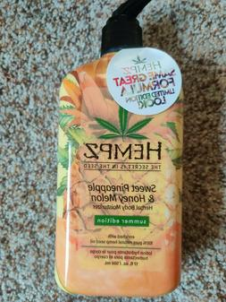 Hempz Sweet Pineapple and Honey Melon Herbal Body Moisturize