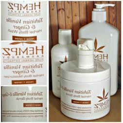 Tahitian Vanilla & Ginger ~ Hempz ~ Moisturizer Body Wash Sc
