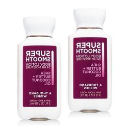 Bath and Body Works 2 Pack A Thousand Wishes Travel Size Bod