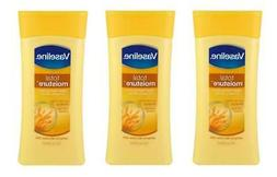Vaseline Total Moisture Clean Feeling Body Lotion - Lot of 3