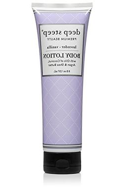 Deep Steep Body Lotion, Lavender Vanilla, 8 Ounce