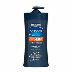 Vaseline Men, Body & Face Lotion, Fragrance Free - 20.3 fl o