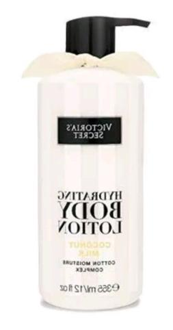 VICTORIA'S SECRET HYDRATING BODY LOTION COCONUT MILK 12oz NE