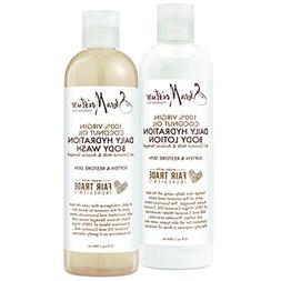 Shea Moisture 100% Virgin Coconut Oil Daily Hydration Bath &
