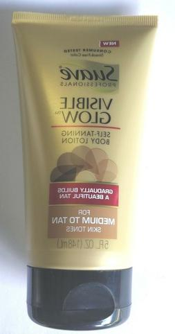 Suave Visible Glow Self Tanning Body Lotion Medium to Tan 5