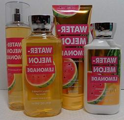 Bath and Body Works Watermelon Lemonade 4 Piece Set, 10 oz S