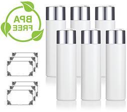 8 oz/240 ml Professional White Refillable Plastic Squeeze  B