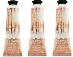x3 Bath & and Body Works Snowflakes & Cashmere Shea Butter H